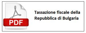 Tassazione fiscale della Repubblica di Bulgaria
